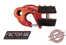 Factor 55 UltraHook Shackle Mount with Titanium Pin - Red 00250-01