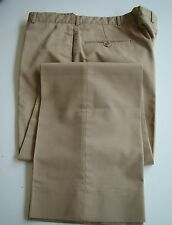 US NAVY USN ALL RANKS RATES CPO & OFFICERS SERVICE DRESS KHAKI PANTS SIZE 34