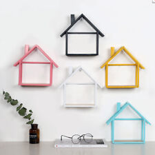 Home Decor Floating Wall Mount Shelf Case Display Storage Rack Stand Black