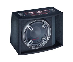 Mac Audio  Destroyer JK 3000, Bassreflex-Subwoofer, schwarz, 1 Stück Neu-Ware