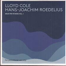 lloyd cole hans-joachim roedelius selected studies vol. 1 cd promo ltd edition