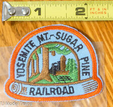 Patch #217 Yosemite Mt. Sugar Pine Railroad ( Railroad Patch )