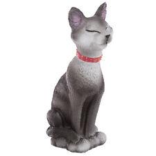 DEKO Katze die sitzt 12 Cm Katzenfigur Dekofigur Dekoartikel Tierfigur