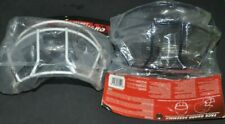 2 New-Rawlings-Batter' S Helmet Face Guard ( White/Black)-New In Pack-
