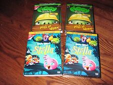 Lot of Two [2] The World of Angry Birds; Piggy Tales & Stella Season Two [2] NEW