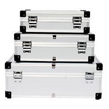 3er Alukiste Alubox Set Lagerkiste Transportbox Aufbewahrungskiste Lagerbox DHL