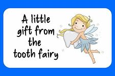 40 TOOTH FAIRY MINI GLOSS PERSONALISED STICKERS