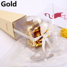 24K Gold Foil Plated Rose Flower Romantic Valentine's Day Gift + Free Gift Box