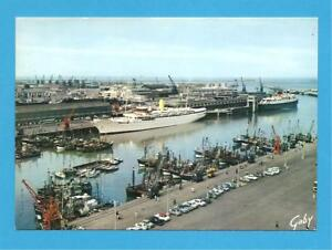 General view of the Harbour, Boulogne, France.