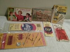 Lot of Vintage Sewing Needles 7 Packages All Sizes & Types