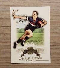 2011 AFL SELECT HERITAGE COLLECTION FOOTSCRAY BULLDOGS CHARLIE SUTTON CARD - H5