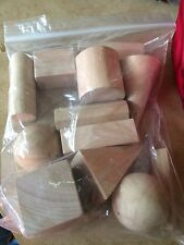K12 Wooden Geometric Shapes #04624