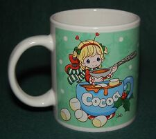Precious Moments Holiday Cocoa / Coffee / Tea Mug - 2011 Christmas