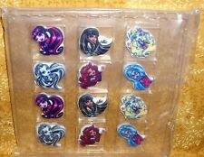Monster High Set, Edible Sugar Cupcake Toppers,DecoPac,12 ct,Multi-Color