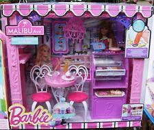 Barbie Malibu Ave Bäckerei CCL74, inklusive vieler Accessoires von Mattel, neu +