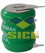 BATTERIA / PILA RICARICABILE NIMH 3,6V 80MA 3 PINS 4508043