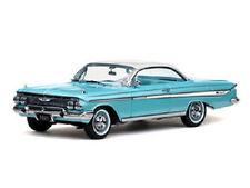 1961 Chevy Impala SEAMIST TURQUOISE Hardtop 1:18 SunStar 2104