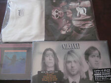 NIRVANA Nevermind ORIGINAL MFSL 24 KARAT GOLD CD + JAPAN WITH THE LIGHTS OUT+TEE