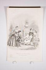 grabado de moda journal de las damas de honor de aprox. 1870, juegos de niños