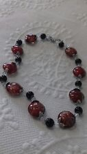 Necklace Glass Vintage