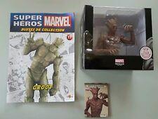 MARVEL SUPER HEROS BUSTE GROOT EN RESINE + CERTIFICAT + LIVRET ALTAYA NEUF