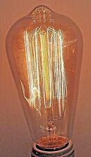 10 pack Vintage style Edison light bulb 60 watt 120v ST19 cage style dimmable