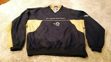 Reebok On Field St Louis Rams Pull Over Jacket Adult Large