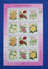 Marshall Islands (#729) 2000 Garden Roses MNH sheet