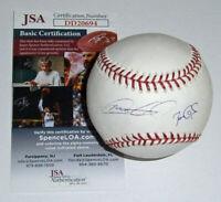 BREWERS Ben Gamel & Mat Gamel signed baseball JSA COA AUTO Autographed Milwauke