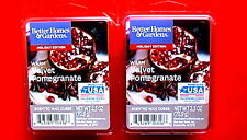 BETTER HOMES & GARDENS SCENTED WAX CUBES WARM VELVET POMEGRANATE 6ct - SET OF 2