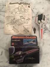 Vintage Battlestar Galactica Colonial Viper With Figure And Box