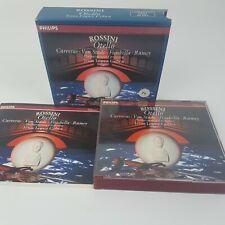 Rossini Otello 2 CD Box Set (1992) PHILIPS Classics Carreras Von Stade Fisichell