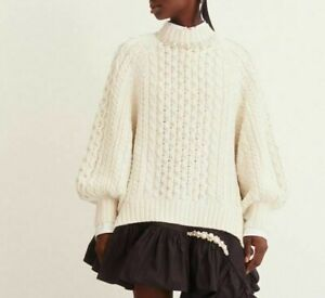 Only One! Simone Rocha X HM H&M oversized Chunky-knit jumper XS XSMALL