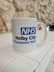 Holby City NHS Trust logo mug / cup