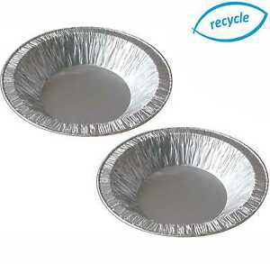 """4½"""" INDIVIDUAL FOIL PIE DISHES, CASES, ROUND, SMALL CONTAINER, DISPOSABLE TRAY"""