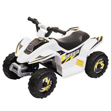 6V Kids Ride On 4 Wheeler Quad ATV Battery Powered Electric Vehicle Toy w/Music