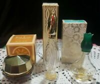 3 Vintage Avon lot Cologne/Perfume empty bottles with boxes