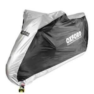 Oxford Aquatex Motorcycle Waterproof Outdoor Cover Large Motorbike Scooter New