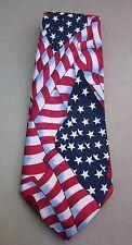 Men's Tie STARS & STRIPES are Forever Tie By Arnetta/Italy Red/White/Blue L@@K!!