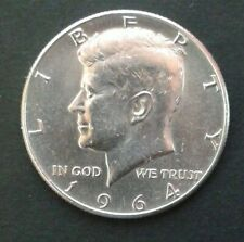U.S.A. - 1/2 DOLLARO - KENNEDY - 1964 IN ARGENTO ORIGINALE