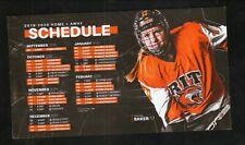 RIT Tigers--2019-20 Hockey Magnet Schedule