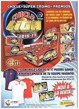 CHICLES DE LA LIGA ESTE 16/17 ESCOGE 10 CROMOS DEL LISTADO ACTUALIZADO