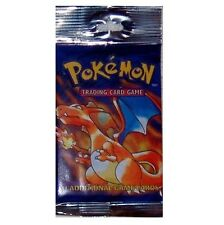 Pokemon Card Base Basic Set Booster Pack Charizard/Blastoise/Venusaur? Long/Rack