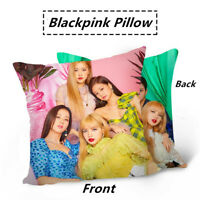Kpop Blackpink Magazine Style Double Photo Sided Pillow Lisa Jennie Sofa Cushion