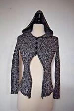 Grane Cardigan Hoodie Sweater Gray Women's Size Medium