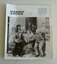 "1976 MEGO B&W SALESMAN SAMPLE PHOTO OF STARSKY AND HUTCH 8"" FIGURES"