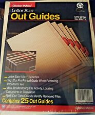 Globe-Weis Out Guides - 9OUT1100 - LOT OF 4