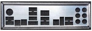 I/O Shield For ASUS RAMPAGE III EXTREME R3E Mainboard Backplate IO