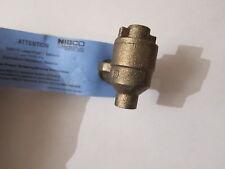 NIBCO NJ830X4CL  Bronze 1/4-in  Solder  Ball Valve