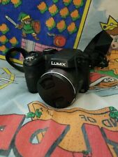 Panasonic LUMIX DMC-LZ20 16.0MP 21X Zoom Digital Camera - Black *VERY GOOD*